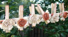 cute idea to add to the clothes pins