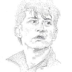 daria_turkova/2016/11/13 18:57:20/🎵Alex Turner - It's Hard To Get Around The Wind🎶 . . . . #alexturner #arcticmonkeys  #thelastshadowpuppets  #portrait  #dotwork  #art #fanart  #musician  #blackandwhite  #drawing #madebyme