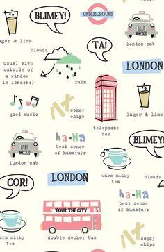 Tour Of London Art Print