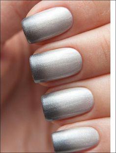 Grey ombre. .