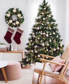 This stunning Christmas Tree from features some of our most beautiful tree decorations. Have you seen our Christmas range yet? Big Christmas Tree, Days To Christmas, Christmas Tree Themes, Christmas Countdown, Christmas Tree Decorations, Christmas Wreaths, Holiday Decor, Christmas Crafts, Christmas Tree Inspiration