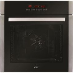 Buy CDA Ten Function Electric Single Oven Stainless Steel from Appliances Direct - the UK's leading online appliance specialist Stainless Steel Appliances, Kitchen Appliances, Built In Electric Oven, Heat Fan, Single Oven, Elements Of Style, Cleaning Wipes, Digital Prints, Touch