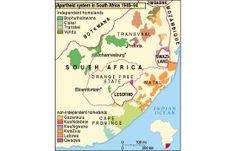 Map apartheid Public Holidays, Apartheid, Free State, Pretoria, Homeland, Teaser, Geography, South Africa, Ocean