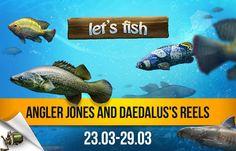 Angler Jones and Daedalus's Reels http://wp.me/p3xnRX-6I #etsfish