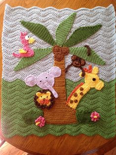 Ravelry: ColoradoMom's Jungle Blanket