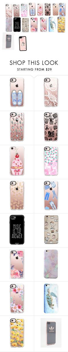 """""""Phone case collection"""" by unicorn1019223 on Polyvore featuring interior, interiors, interior design, home, home decor, interior decorating, Casetify and adidas"""