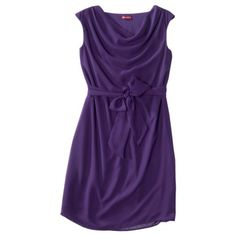 Merona® Womens Georgette Cowl Neck Dress - Assorted Colors