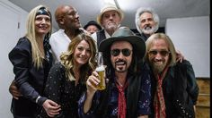 After his final concert - Backstage with Tom Petty and the Heartbreakers at the Hollywood Bowl