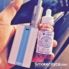 GoodMorning ! Start your day with some #Blueberry Glazed #Donuts .. #ILoveDonuts ... Stop by at our Store or order online  #Vape #ejuice #ecig