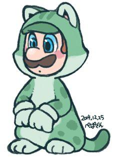 Cat Luigi.
