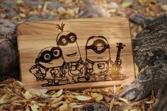 Funny gift personalized cutting board Christmas gift by Vyroby