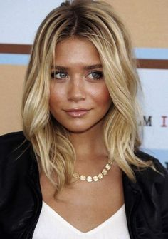Tips for Styling Mid Length Hairstyles for Blondes Pictures