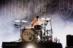 Matt Helders - Arctic Monkeys live at Cal Coast Credit Union Open Air Theatre by Michelle Shiers Matt Helders, Open Air Theater, Alex Turner, Arctic Monkeys, Theatre, Beast, Live, Theatres, Theater