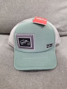 a341783d579 New BigTruck Hat in Moss - Mesh Back Adjustable OSFM  fashion  clothing   shoes
