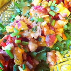 Faboosh Rouge: Sweet Shrimp Salad (Salad)