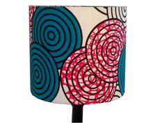 Geometric Circles African Print  Lampshade by AnkaraLampshades, £25.00