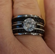 Pretty Rings, Beautiful Rings, Jewelry Rings, Jewelry Watches, Romancing The Stone, Vintage Diamond Rings, Opal Rings, Anniversary Rings, Jewerly