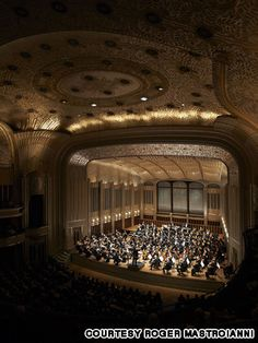 Severance Hall, Cleveland, Ohio opened in 1931