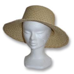 chapeau en paille - Vannerie Sana