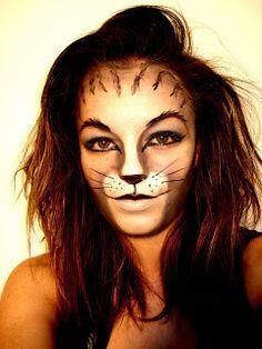 halloween makeup ideas halloween makeup cat makeup tips tricks tutorials - Halloween Makeup For Cat Face