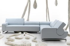 The Modern B Flat Sofa by Andreas Berlin