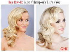 Hair How-To: Reese Witherspoon's Hair Waves