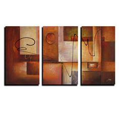 @Overstock - Artist: Unknown  Title: Abstract 11  Product type: Canvas arthttp://www.overstock.com/Home-Garden/Abstract-11-3-piece-Canvas-Art-Set/5133346/product.html?CID=214117 $165.99