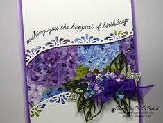 Posy Flower, Leaf Images, Flower Cards, Butterfly Cards, Pretty Cards, Stamping Up, Cool Cards, Stampin Up Cards, Making Ideas