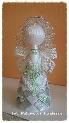 Image result for pinterest kanzashi christmas