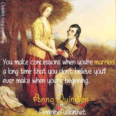 Anna Quindlen Quote - Marriage
