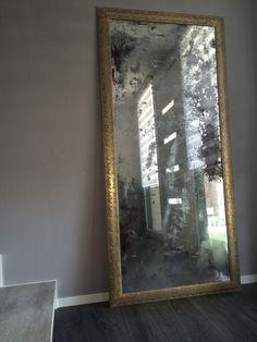 Specchio anticato fai da te