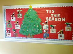 My Christmas bulletin board...