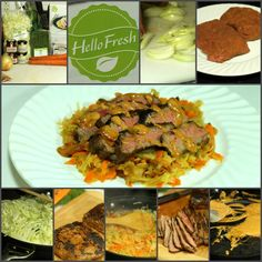 Delicious 30 minute meals delivered from hello fresh nickis Healthy Meals Delivered, Gourmet Recipes, Healthy Recipes, Fresh Food Delivery, Hello Fresh Recipes, 30 Minute Meals, Stuffed Sweet Peppers, Easy Cooking, Food Print