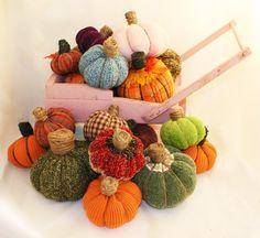 Someday Crafts: No Sew Sweater Pumpkins