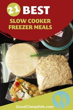 We're sharing our best slow cooker freezer meals so you can stock your freezer with quick, easy, and delicious weeknight dinners. Learn about the different types of slow cooker freezer meals and get our best tips and recipes! Slow Cooker Freezer Meals, Best Slow Cooker, Freezer Cooking, Slow Cooker Recipes, Easy Weekday Meals, Make Ahead Meals, Weeknight Dinners, Easy Dinners, Sweet And Sour Meatballs