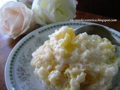 Cocina Costarricense: arroz con leche y piña