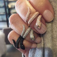 Snake Ring On Pinterest