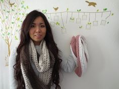 Yay, as promised, here's a crochet tutorial for all you crochet lovers out there. I had to edit this video a total of 4 times and each time it took me 2-4 hours because my software kept crashing for some reason but it's finally up!    I used a very basic/beginner's pattern for this tutorial but don't you think that by making the scarf in 2 differe...