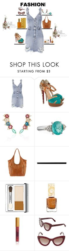 """""""Outfit"""" by theresagray31 on Polyvore featuring Ksubi, Christian Louboutin, Alexander Laut, Frye, Merola, Clinique, Pacifica, Lipstick Queen, Kate Spade and Revlon"""