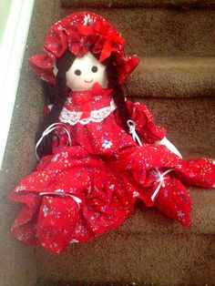 My daughter's handmade doll bought at children's hospital Childrens Hospital, To My Daughter, Dolls, Christmas Ornaments, Holiday Decor, Photos, Handmade, Stuff To Buy, Home Decor