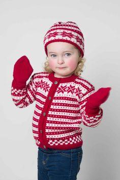 jakke, lue og sokker - Viking of Norway Baby Boy Knitting, Knitting For Kids, Baby Barn, Alpacas, Norway, Vikings, Christmas Sweaters, Children, Pattern
