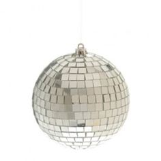 """4 Inch Mirror Disco Ball - Serve up some disco style at your next party or event.  These small, 4"""" Diameter mirror balls are great for decorations, center pieces, or to thread through a beaded necklace to create a retro fashion statement. 4"""" Diameter disco balls.    - $5.95"""