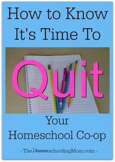 Struggling to feel the Awesome of your co-op? Maybe it's time to move on. --> How To Know It's Time to Quit Your Homeschool Co-op - The Hmmmschooling Mom Homeschool Coop, Homeschool Curriculum, Homeschooling, Science Activities, Teaching Tips, How To Know, Lesson Plans, Encouragement, Mom
