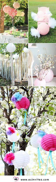 41 Chic & Budget Friendly Paper Lanterns Decor Ideas to Make Your Wedding…