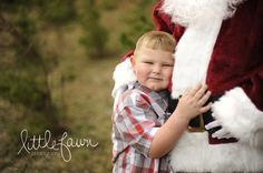 Little Fawn Photography | Boy And Santa