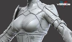 Modern Combat Versus - Character Team Art Dump