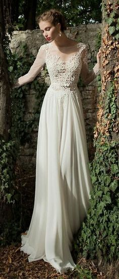 Stunning Bridal Lace Gown ♥