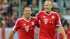 Arjen Robben, Franck Ribery, FC Bayern München