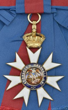 Order of St Michael & St George - Knight Grand Cross badge (122 x 88mm., c .1900)