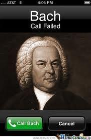 Do call Bach!